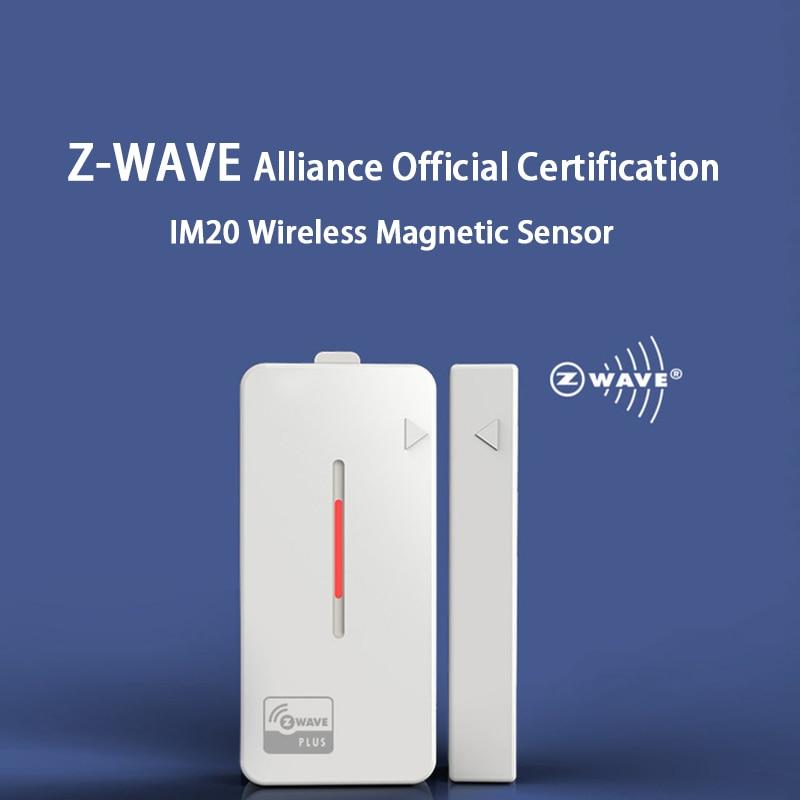 Spetu 4pcs/lot Z-wave Plus Smart Home Door/Window Contact Sensor Z wave Smart Home Automation Sensor EU 868.4MHZ