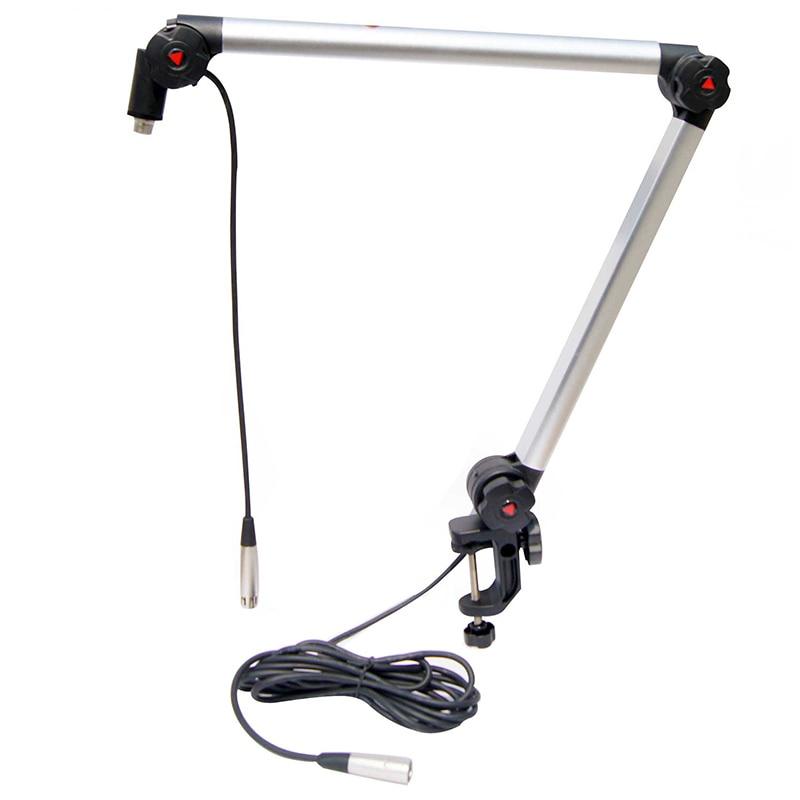 Original Alctron MA614 Luxury professional broadcast outrigger bracket gimbals Suspension Boom Scissor Arm Stand Holder