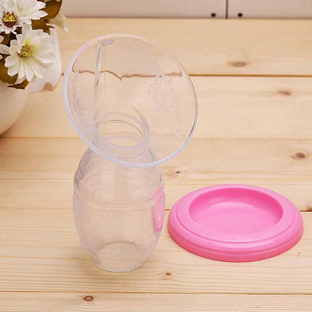 ידני תינוק שד משאבת שותף סיליקון חלב אספן עם מכסה הנקה כלי שומר יניקה בקבוק האכלת אביזרים