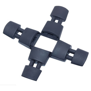 Image 5 - 4pcs Rubber Cases Landing Gear Height Extender Leg Protector Extension For Parrot BEBOP 2 FPV HD Video Drones Landing Gear