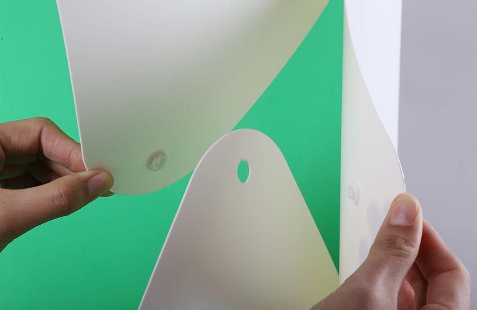 NUEVO Mini LED Estudio de luz plegable Difuso Caja blanda Disparos de - Cámara y foto - foto 5