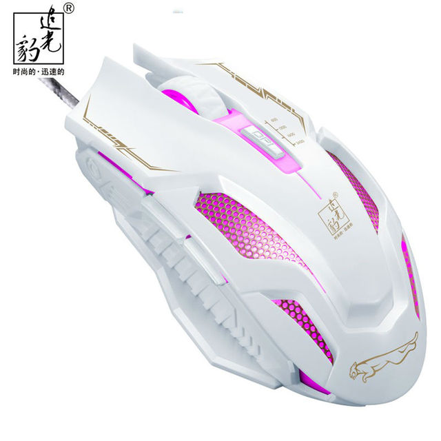 Souris Filaire Professionnel Gaming Gamer Souris 6 Bouton Usb Led