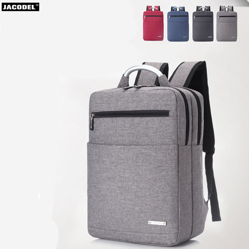 Jacodel 14 15 15.6 inch Business Nylon Laptop Notebook Backpack Bags Case School Backpack for Men Women 15 inch Laptop Bag 15.6 jacodel women shoulder bag for 14 15 15 6 inch laptop handbag women messenger bags crossbody bags for macbook ipad tablet case