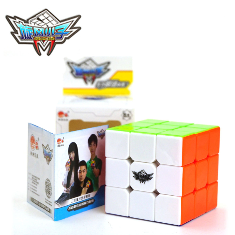 Cyclone Boys FeiWu 3x3x3 Magic Cube 57mm Professional Cubo Magico Speed Smooth Puzzle Cube Non Sticker Education Toys Neo Cube