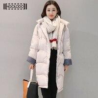Зимняя теплая куртка Для женщин пальто Большие размеры Длинные Подпушка черный, розовый зеленый серый пиджак для женщин осень basice верхняя о...