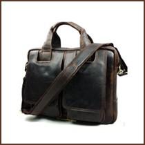 Men\'s messenger bags  genuine leather