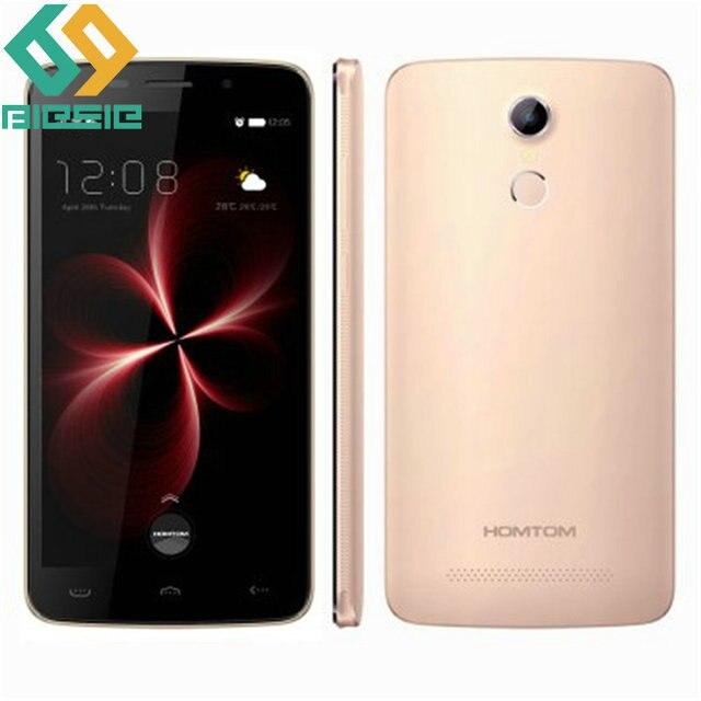 HOMTOM HT17 Pro Mobile Phone MTK6737 Quad Core 2G RAM 16G ROM 5.5Inch 1280*720 Android 6.0 8.0MP Camera Fingerprint