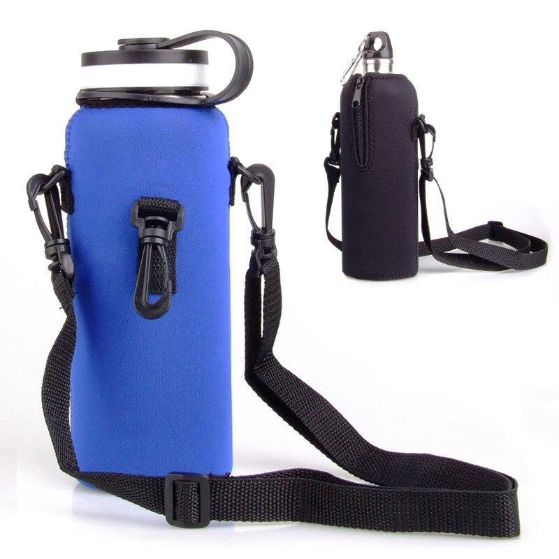 750 ML Botella de Agua Al Aire Libre Bolsa Pounch Bolsillo Bolsillo Con Cremalle