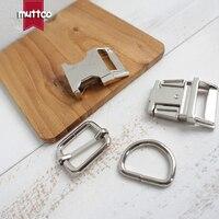 DIY For Dog Collar Silver 2 5cm Diy Emboitement Backpack Zinc Alloy Buckle Zinc Alloy Adjust