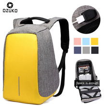 ФОТО 156 Oxford Men Backpack Anti-thief USB Charge Laptop Rucksack Multi-function Unisex  Macbook Retina 133 154 bags Mochila