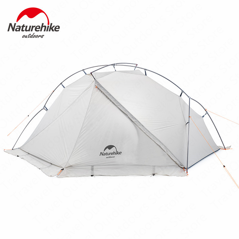 Naturehike Tent 930g VIK Series Camping Tent 20D Silicone Nylon Aluminum Pole Ultralight Tent Outdoor 1 person Tents NH18W001-K image