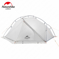 Naturehike Tent 930g VIK Series Camping Tent 20D Silicone Nylon Aluminum Pole Ultralight Tent Outdoor 1 person Tents NH18W001 K