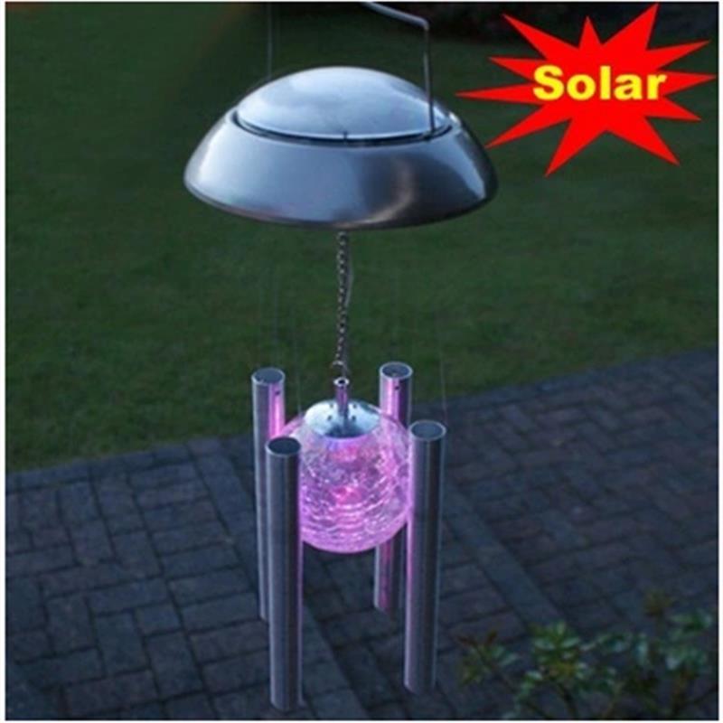 Popular Solar Lighted Wind Chimes Buy Cheap Solar Lighted