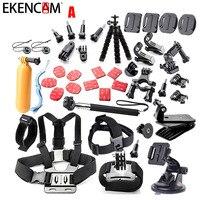 EKENCAM Sports Camera Accessories Kits Set Mount Tripod For Go Pro Hero 6 5 4 3