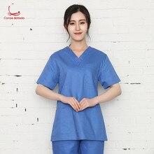 New summer operating room doctor dentist uniform pet shop beauty salon