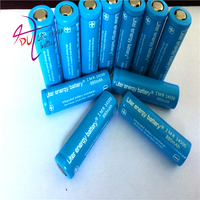 20pcs Liter energy battery 3.7V 880mAh ICR 14500 Li ion Rechargeable Battery with Safety Relief Valve + Battery Storage Box