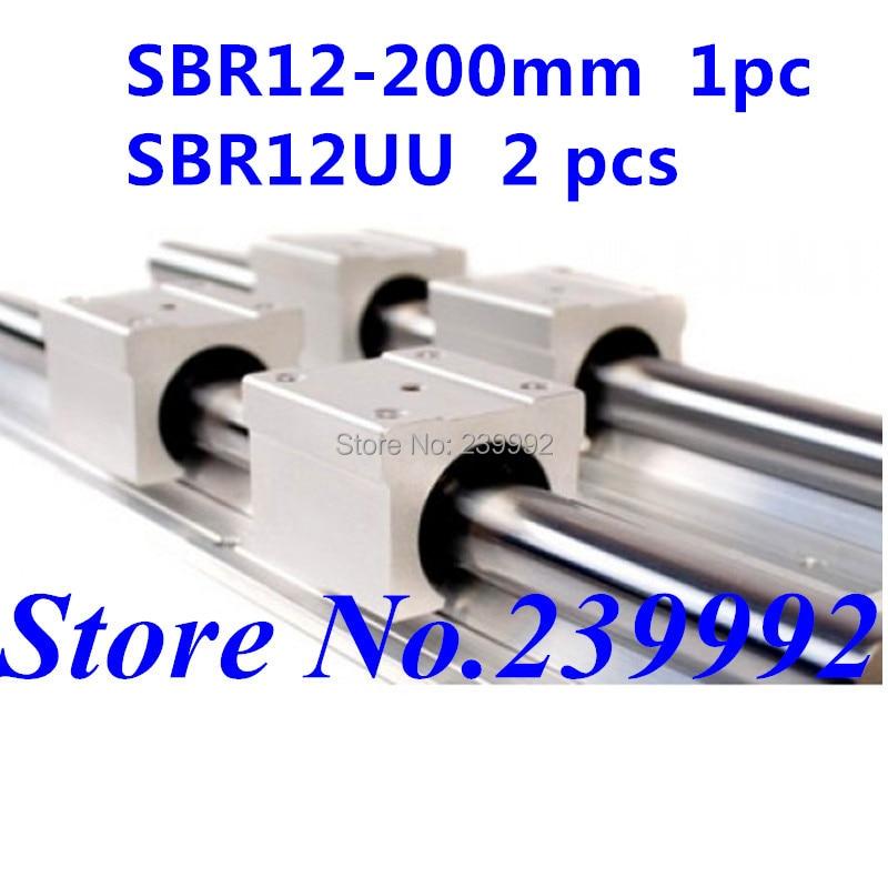 SBR12LUU Linearlager Linearwagen Linearschlitten für 12 mm Welle ETSBR12LUU