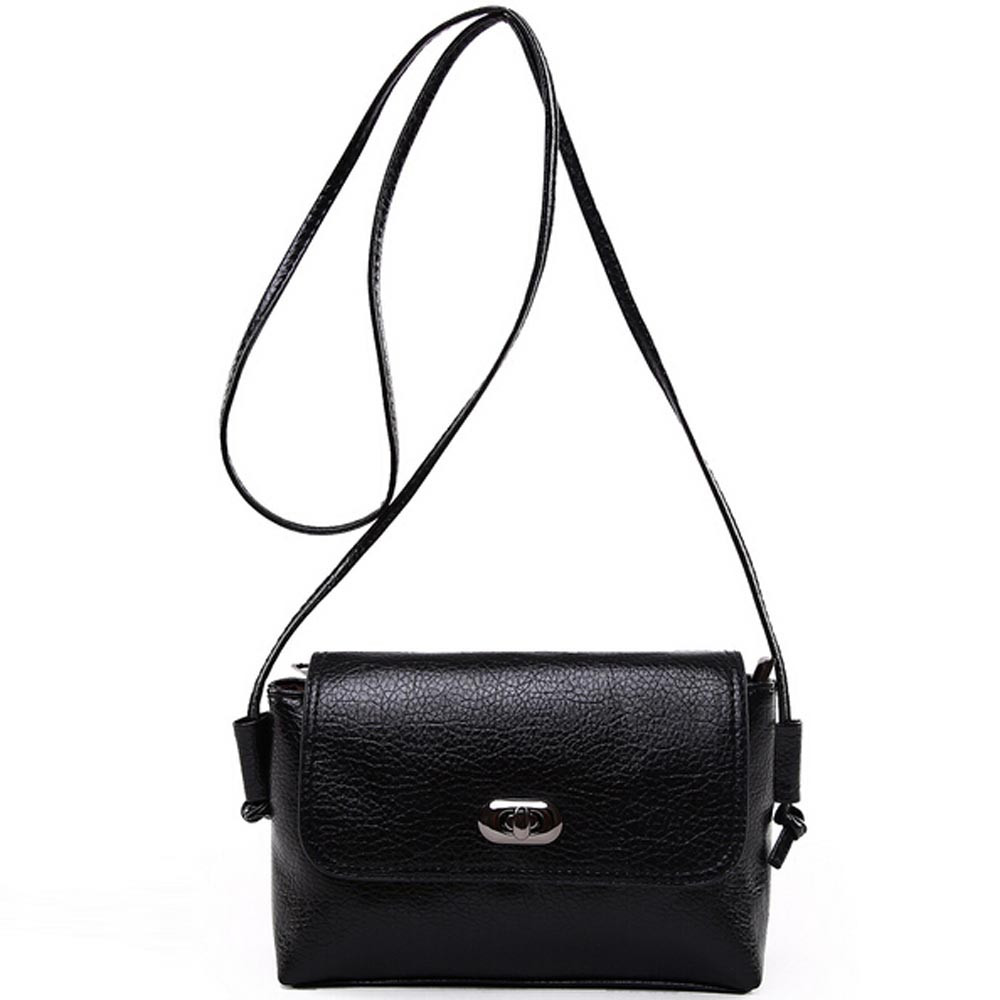 Mance Fashion Women Bag Ladies Pu Leather Handbag Shoulder Messenger Mini Bag Ca