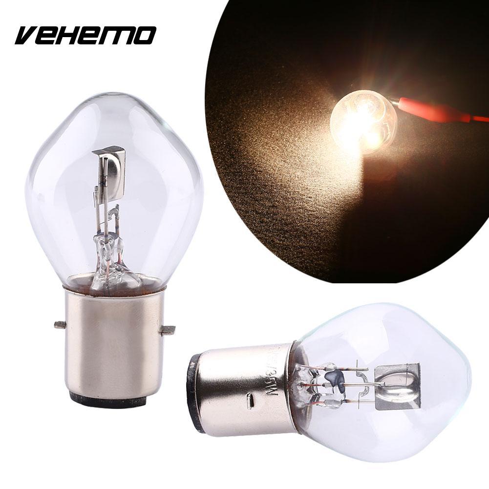 Vehemo Vehemo 12V 35W 780LM ATV Scooter Motorcycle Head Light Lamp Bulb B35 BA20D Accessories