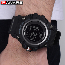 PANARS Luxury Sport Watches Mens Brand Digital Watch Men Waterproof Military Watch Swimming Electronic Wrist Watches relogio Led