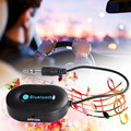 Portable Bluetooth 3.0 Audio Music Streaming Receiver Adapter with Hands Free Calling and 3.5 Mm Stereo Output Cable-Black 8088