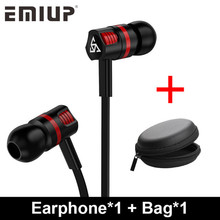 In-ear Wired Earphone For Phone In Ear Sport Headset Stereo Earbuds Handsfree Mic Earphones For Iphone 7 X Samsung Xiaomi Huawei цена в Москве и Питере