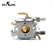 KELKONG Карбюратор ПОДХОДИТ для MP16 MP16-7 52cc бензопила КАРБЮРАТОР 2 тактный двигатель 4500 5200 5800 бензиновая пила садовый инвентарь трубки