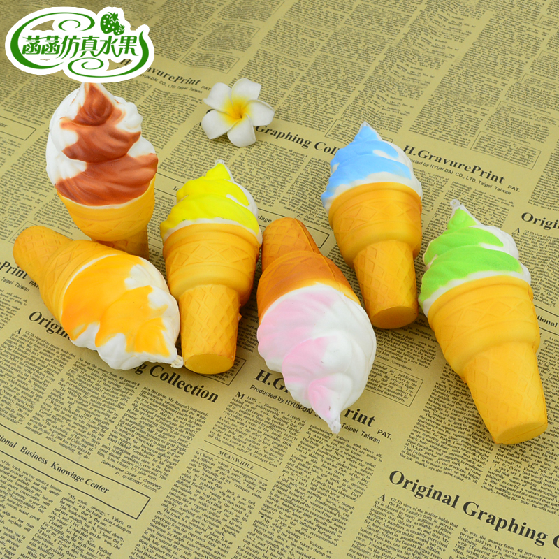 Artificial ice cream artificial fruit cake model ice cream dessert photography props decoration in Artificial Dried Flowers from Home Garden