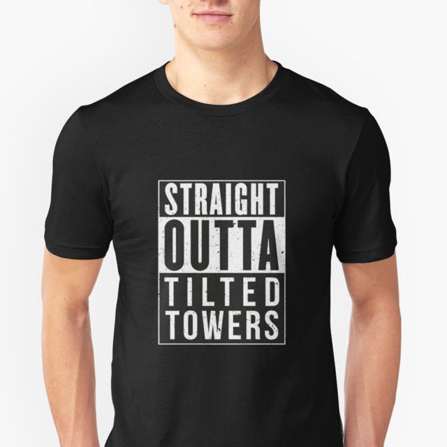 Fortnite Battle Royale Straight Outta Tilted Towers T Shirt Game