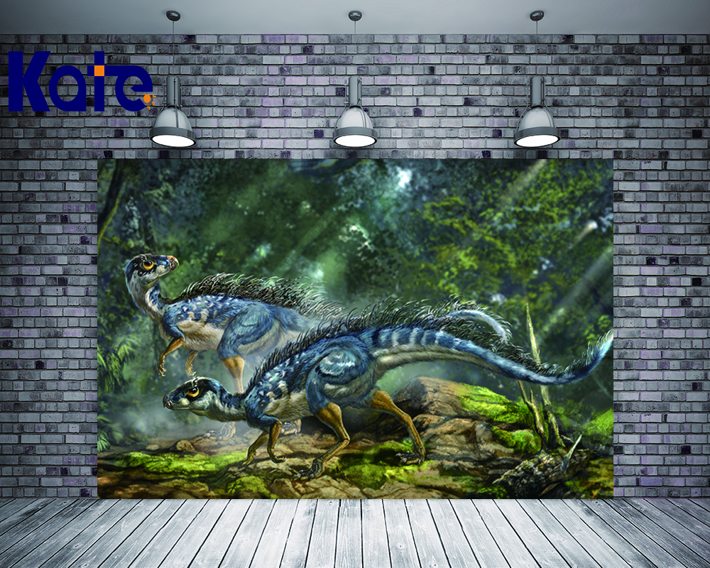 KATE 5X7ft Photography Backdrops Kids Dinosaur Party Backdrop Forest Backdrop Children Dinossauro Festa Birthday Photo for Kids стоимость