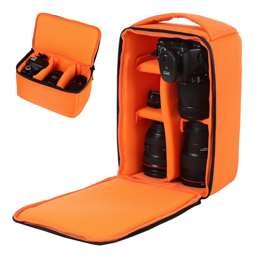 DSLR Camera Bag Multi-functional Waterproof Outdoor Video Digital Carry Photo Bag Case for Camera Nikon Canon DSLR