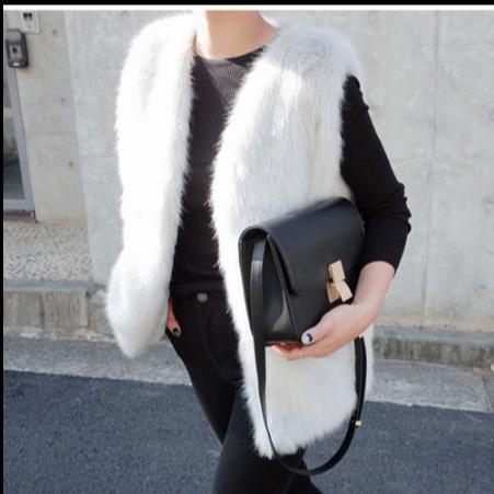 D'hiver Artificielle De Femmes Taille La Chaud Nouveau Faux Z309 Gilets Femme Plus Manteau Fourrure Fausse Vestes Gilet En 2018 fFw8nq85