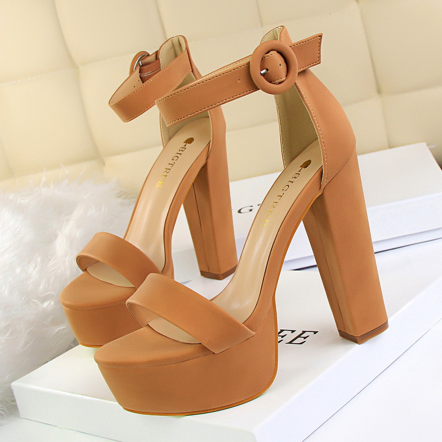 Platform Sandals Bigtree Shoes Women Pumps Wedding High-Heels Sexy Fashion New