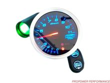 80mm Def Tachometer BF Style RPM Gauge Led Display With Shift Light