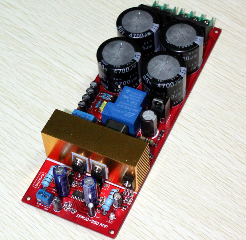Free-Shipping-IRS2092-class-d-amplifier-Class-D-audio-power-amplifier-board-300w-speaker-protection-We (3)
