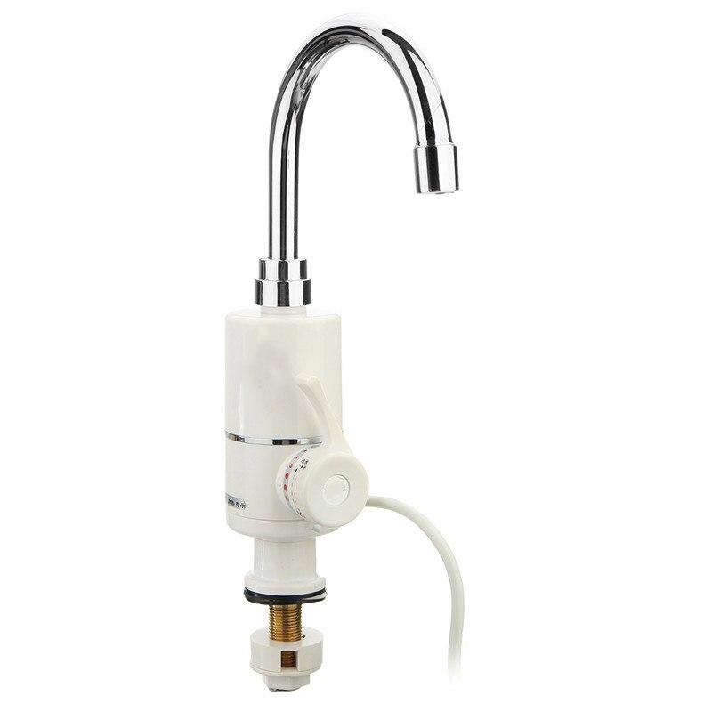 Бытовой электрический водонагреватель 220 В 2000 Вт Мгновенное Tankless отопление кран Кухня горячей и холодной защита от утечки водопроводной