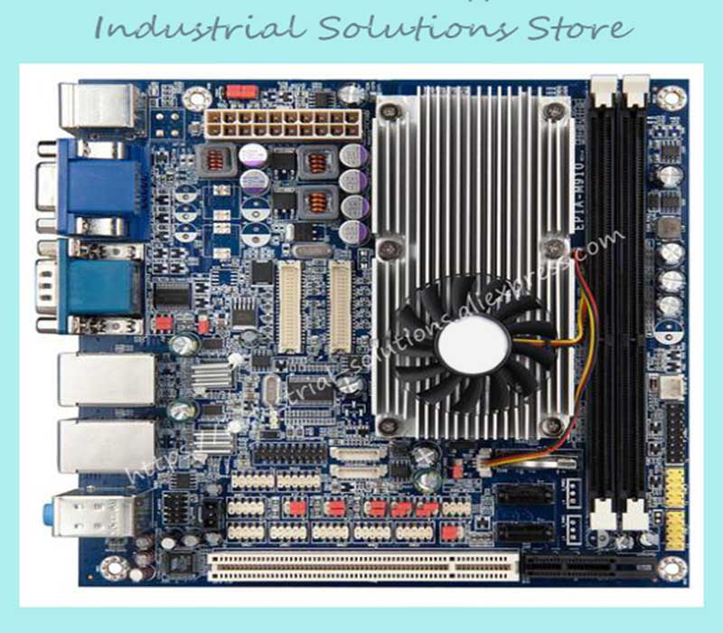 Mini-itx Motherboard EPIA-M910 12com Dual Display Dual Network Hd Lvds Hdmi For 1080p 100% tested perfect quality mini itx motherboard embedded industrial motherboard epia vb7001 av out 100% tested perfect quality