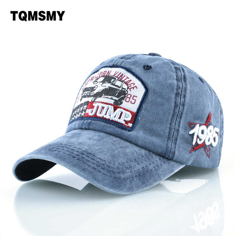 d767d0f1c7b Unisex Brand hats for women cotton baseball cap men snapback caps Washed  denim Woman s hip hop