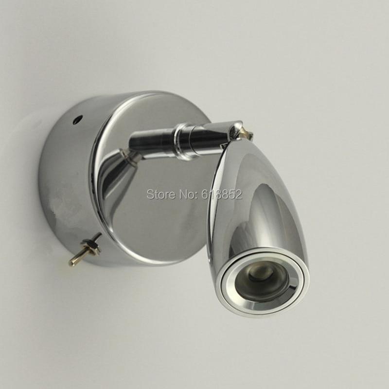 Lampka zagłówka łóżka Topoch LED 3W z wyłącznikiem On Flush - Oświetlenie wewnętrzne - Zdjęcie 6