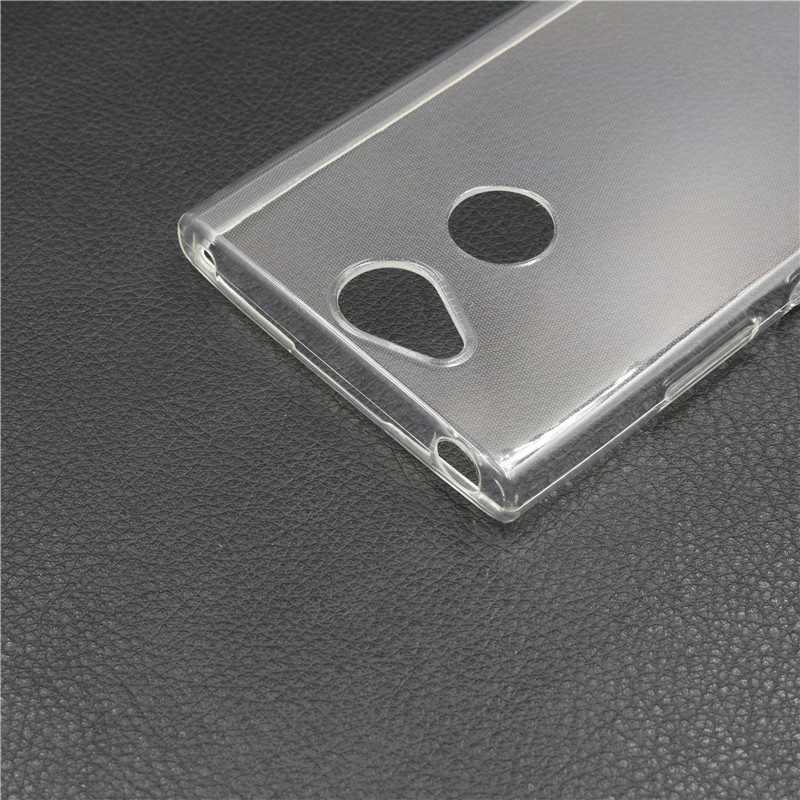 100 pcs Lot Silicone Clear TPU Case For Sony Xperia XA2 Phone Case Transparent Silicona Back Cover for Sony Xperia XA2 Ultra in Fitted Cases from Cellphones Telecommunications