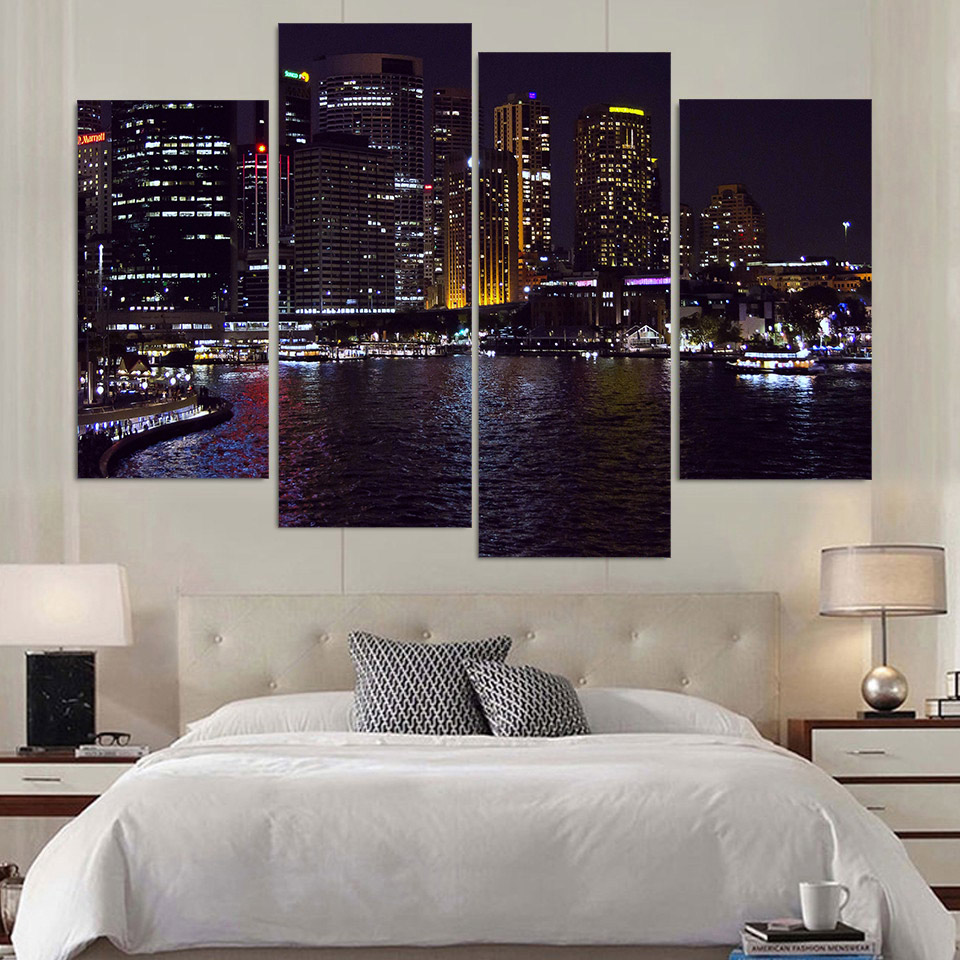 3panels living room decorative canvas painting stars baby modern picture print art on prints