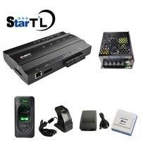 zk Inbio160 One Door Biometric fingerprint door access control system with power Supply+FR1200+Zk4500 Reader