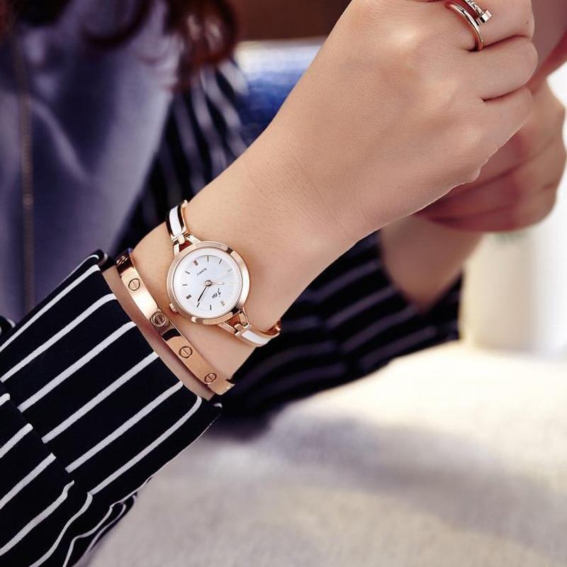 Brand Luxury Crystal Rose Gold Watches Women Fashion Bracelet Quartz Watch Women Dress Watch Relogio Feminino orologio donna 2
