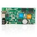 Шэньчжэнь HD-D10 светодиодный модуль платы управления 4 * HUB75 асинхронный интерфейс передачи данных перемычки RGB полноцветный светодиодный дисплей платы управления
