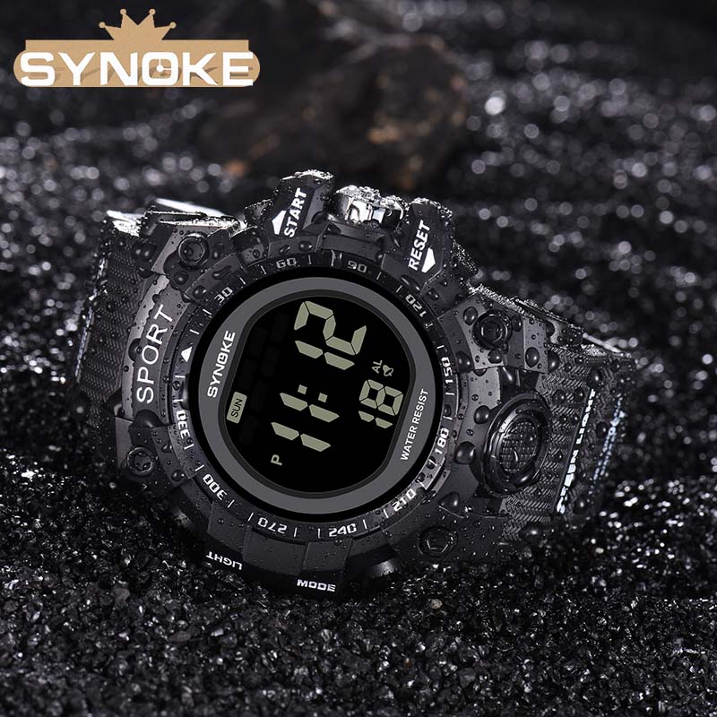 Military Wristwatch Sports Men LED Electronic Watches 2018 Best Fashion Digital Wrist Watches Mens Outdoor Life Waterproof Watch цена 2017