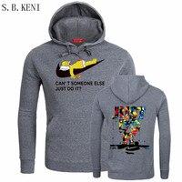 New Brand Sweatshirt Men Hoodies Sweatshirts Fashion Solid Fleece Hoodie Mens Pullover Men S Tracksuits Moleton