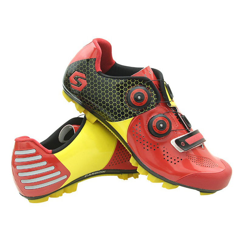 mountain bike shoes sapatilha ciclismo mtb cycling shoes spd superstar riding bicycle sneakers men triathlon cycle