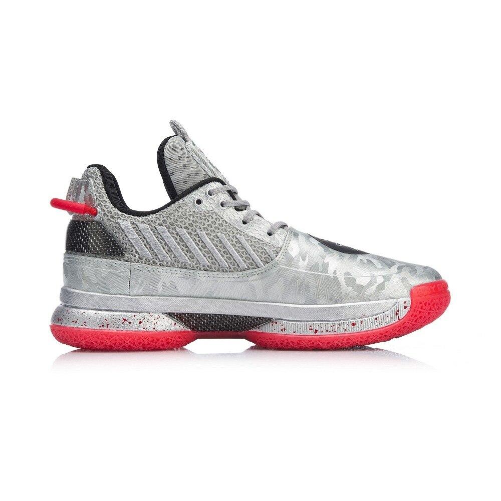 Image 3 - Li Ning Men WOW 7 VETERAN Basketball Shoes wayofwade 7 CUSHION wow7 LiNing li ning CLOUD BOUNSE+ Sport Shoes ABAN079  XYL212Basketball Shoes   -