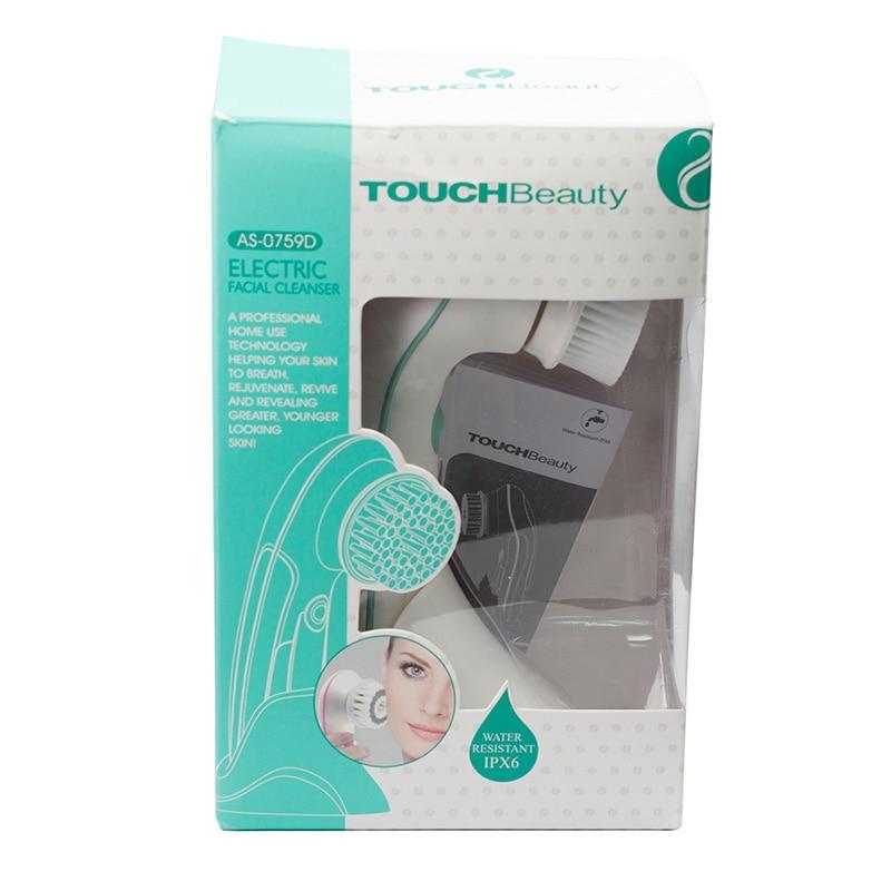 TOUCHBeauty 360 Rotating gezichtsreinigingsborstel, waterdicht met 2 - Huidverzorgingstools - Foto 5