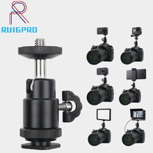Universal Hot Shoe Adapter Cradle Ball Head with Lock for Camera Tripod LED Light Flash Bracket Holder Mount Hot коляска mr sandman guardian 2 в 1 фиолетовый kmsg 043614